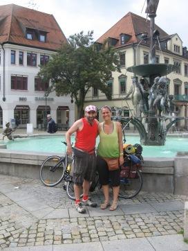 En la plaza del mercado de Einhein