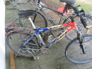 Las bicis embarradas