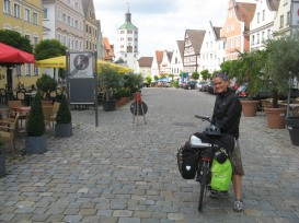 La calle principal de Gunzburg