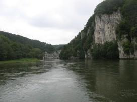 El Danubio desde el barco a Kelheim