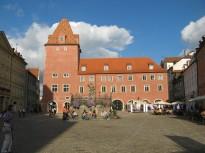 Plaza en Ratisbona