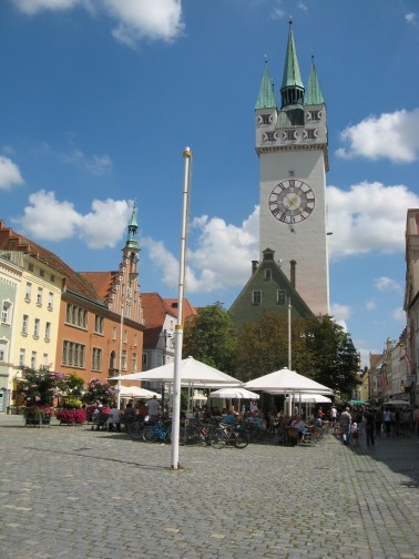 Calle principal de Straubing