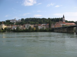 El Danubio a su paso por Passau