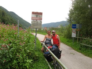En la frontera de Austria