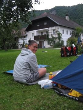 El camping en Schlogen