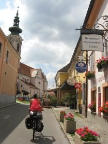 Nuestra llegada a Hainburg