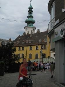 Entrando al casco histórico de Bratislava