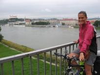 Saliendo de Bratislava
