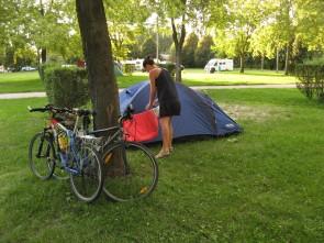 El camping termal de Komarom