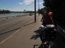 Entrando en Budapest