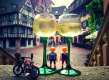 Degustando los vinos de Alsacia