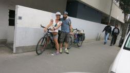 Momento de la salida en Nantes