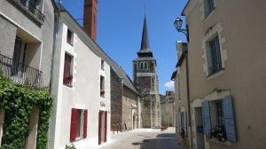 Bonita iglesia del s.X en Savennières