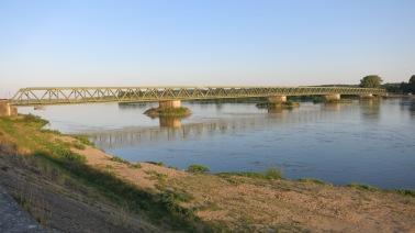 El puente de Mathurin al atardecer