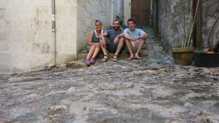 Con nuestro amigo Remín