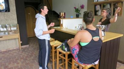 Degustando los vinos de Sancerre