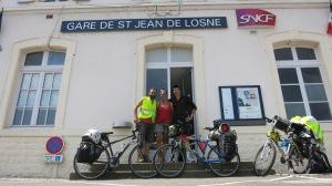 Despedida de Remi en la estación de St Jean