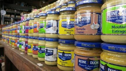 Más mostaza de Dijon