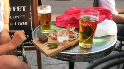 Cañas y tapa en Dijon