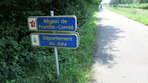 Entrada en el Franco Condado