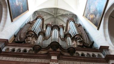 Órgano de la iglesia de Dole