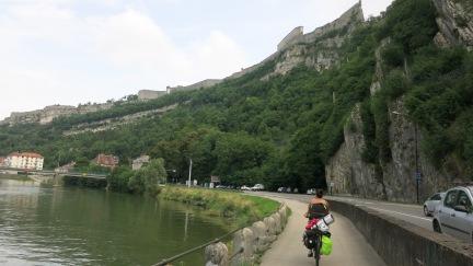 Entrando en Besançon