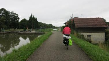 Bajando hacia la cuenca del Rin