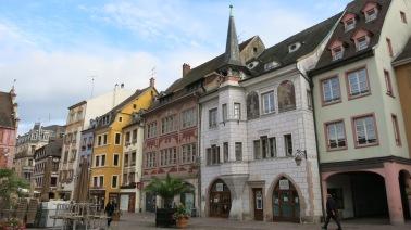 Casas en la Plaza de la Reunión