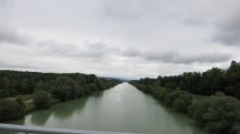 Abandonando definitivamente el canal del Ródano al Rin