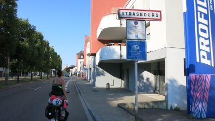 Entrando a Estrasburgo