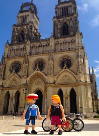 En la catedral de Orleans