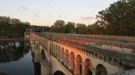 Puente Canal en Beziers.