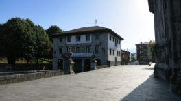 La plaza Alta de Andoain