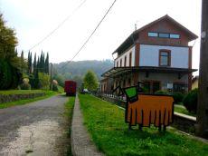Inicio de la Vía Verde en Lekunberri