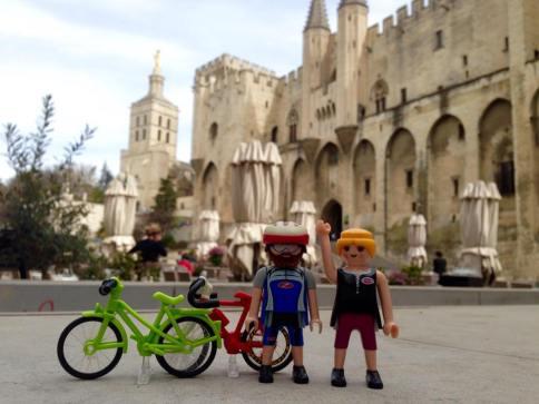 Saludos desde Avignon