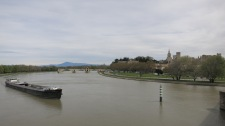 Entrando en Avignon