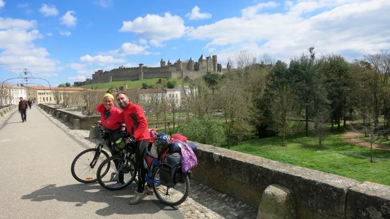 Recién llegados a Carcassonne
