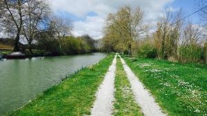 Camino junto al Canal