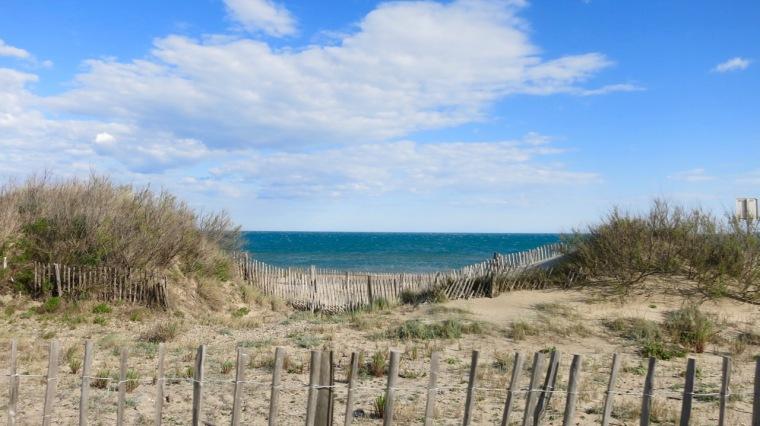 Imagen de la costa entre Agde y Sète I
