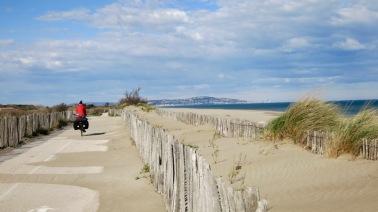 Imagen de la costa entre Agde y Sète II