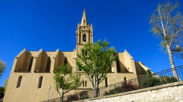 Colegiata de San Lorenzo (aquí está la tumba de Nostradamus)