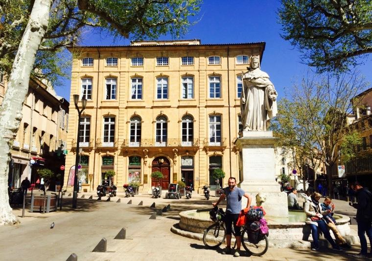Recién llegados a Aix en Provenc