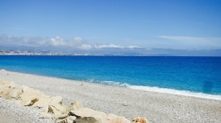 Playa cerca de Antibes