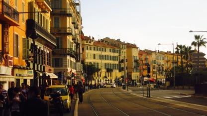 Bulevar en Niza