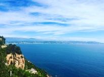 Vista entre St Rafael y Cannes