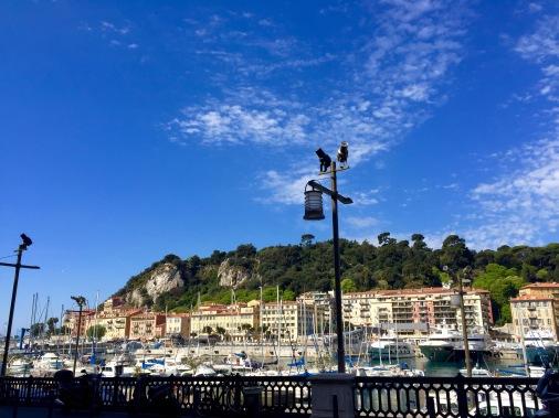 Saliendo de Niza