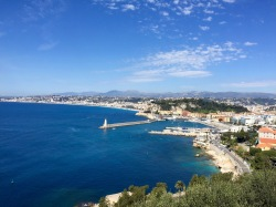 Vista del puerto de Niza