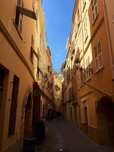 Callejuelas de Mónaco