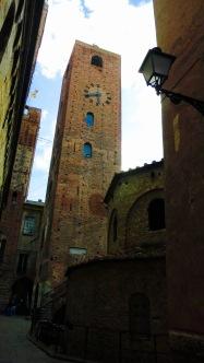 Antiguo baptisterio en Albenga