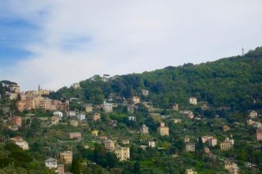 Paisaje cerca de Camogli